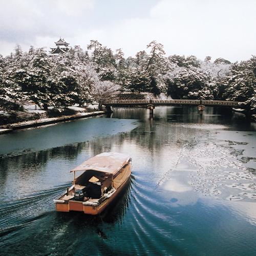0017 松江城と堀川遊覧船