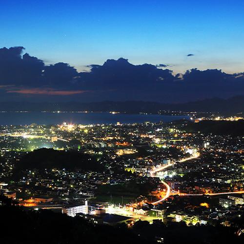 0026 松江市街と宍道湖