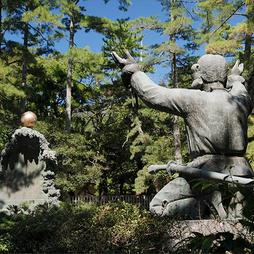 0041 出雲大社 ムスビの御神像