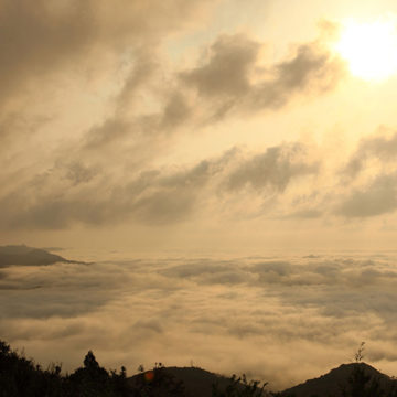 0538 枕木山からの境港・米子方面