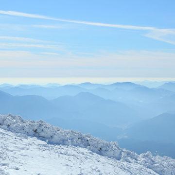 0556 大山からの中国山地