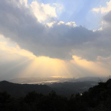 0564 嵩山からの松江市街
