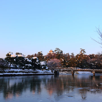 0571 松江城と堀川