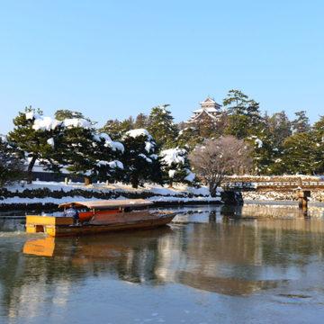0573 松江城と堀川遊覧船