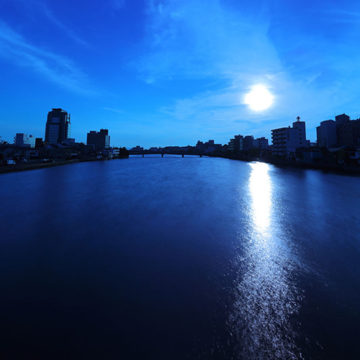 1129    松江市 大橋川