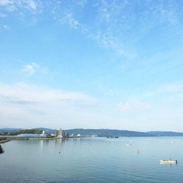1304 松江市 しじみ漁と島根県立美術館